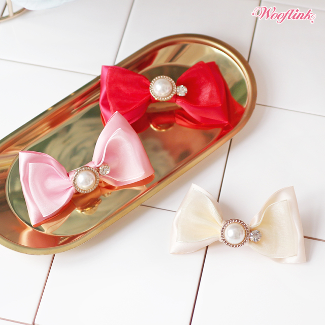 ウーフリンク WOOFLINK BE MY VALENTINE HAIRBOW