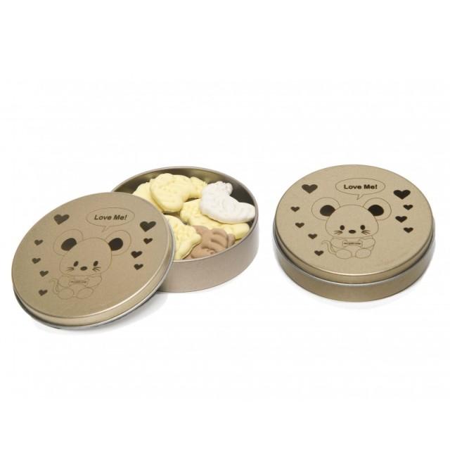フォーペッツオンリー for pets only TOPOMIO SECRET BOX GOLD (PE2020-A13-U)【犬用 ペット フードストッカー トリーツケース】