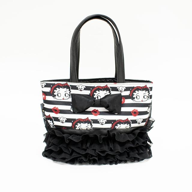 天使のカート Betty Boop Pudgy × アキュミリア accu milia おでかけお散歩トートBAG
