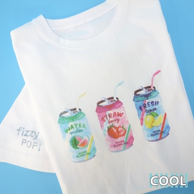 サーカスサーカス circus circus Fruits Soda Owner's T【涼感加工】