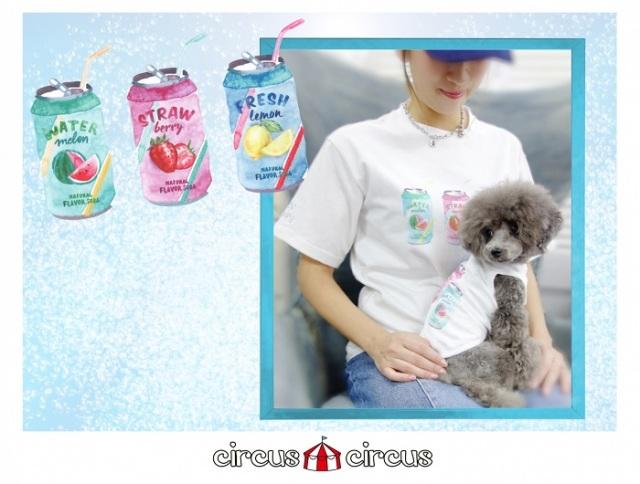 サーカスサーカス circus circus Fruits Soda Owner's T【涼感加工】