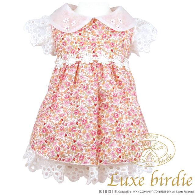 リュクスバーディ Luxe birdie フルールワンピース PINK