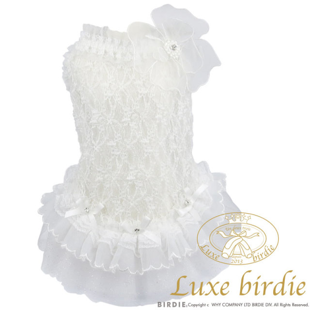 リュクスバーディ Luxe birdie レーシーチュチュワンピース