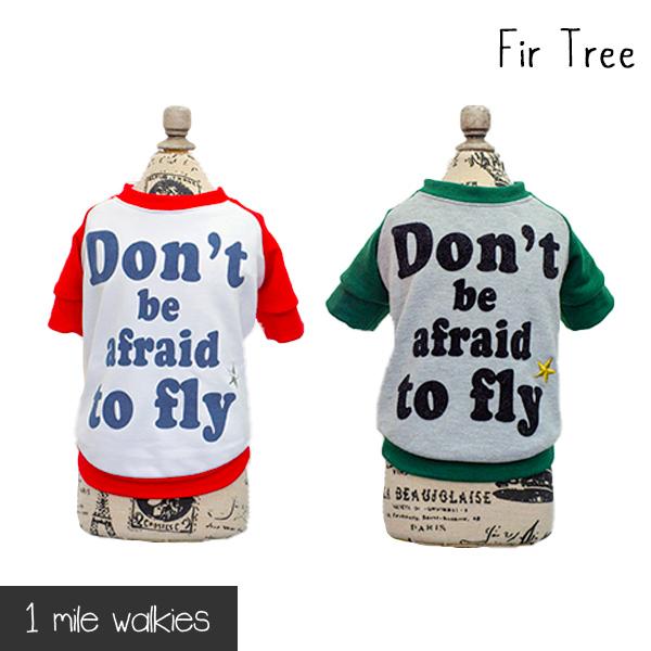 ワンマイルウォーキーズ 1 mile walkies ファートゥリー Fir Tree Back Print T-shirt