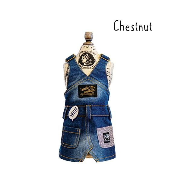 ワンマイルウォーキーズ 1 mile walkies チェストナッツ Chestnut Junper Skirt