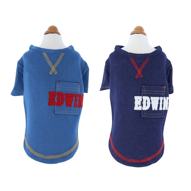 エドウィン EDWIN ワッペンポケットシャツ