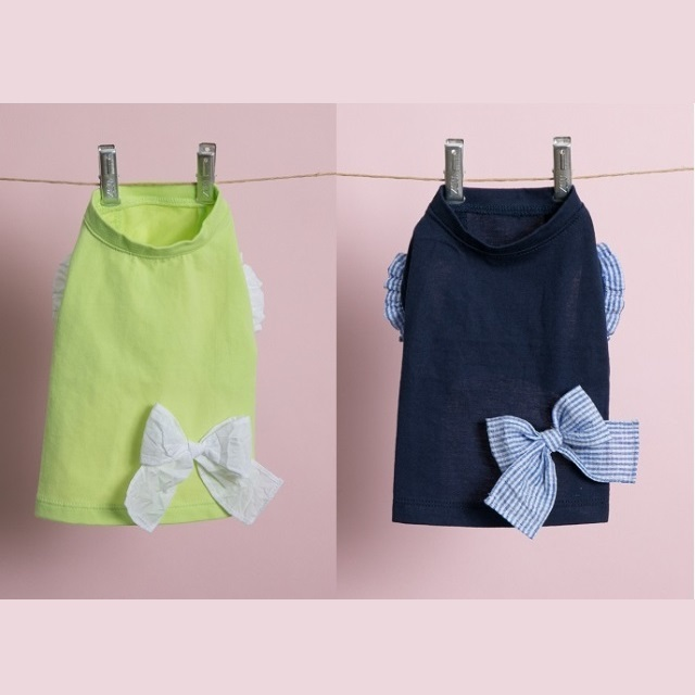 ルイスドッグ louisdog Ribbon Sleeveless Organic Tee