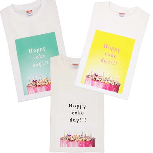 ゴッドピヴァ GODPIVA Happy Cake Day!!!ママ用Tシャツ