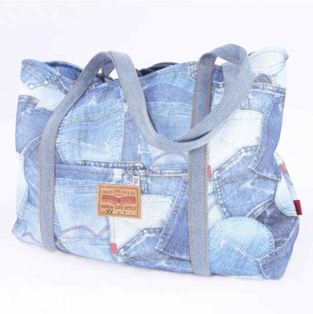サーカスサーカス circus circus MESH DENIM POCKET SUPER LIGHT CARRY (CCB-0056)