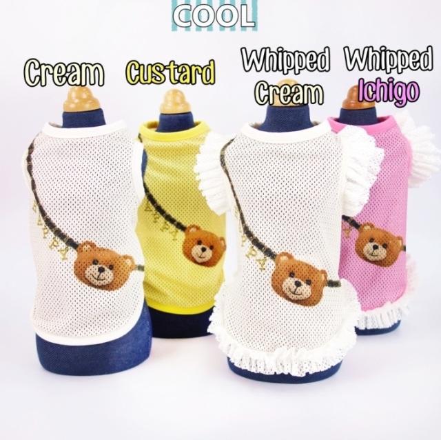 サーカスサーカス circus circus Toy Bear ポシェットメッシュタンク【涼感加工】(CCW-0173)