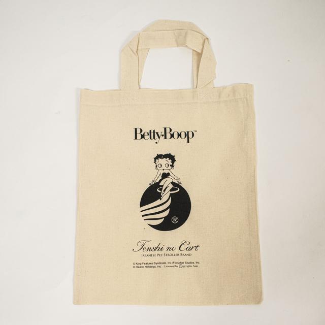 天使のカート Betty Boop Pudgy Collection A4 エコ・コットンバッグ
