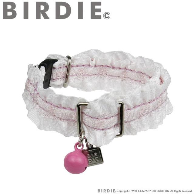 バーディ BIRDIE CATドットフリルカラー