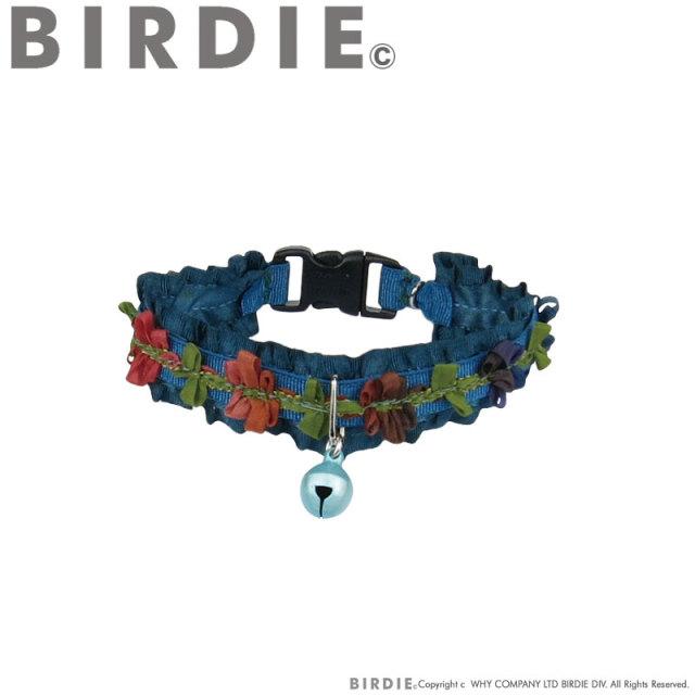 バーディ BIRDIE CATフリルリボンフラワーカラー