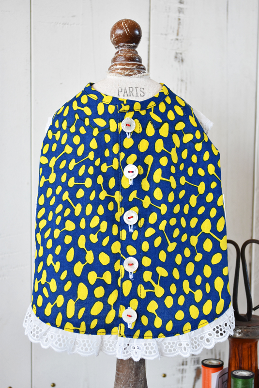 プエルト PUERTO ビーンズガーデンエプロン by makumo textile