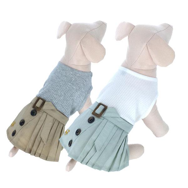 ロペピクニック ROPE PICNIC プリーツトレンチスカート