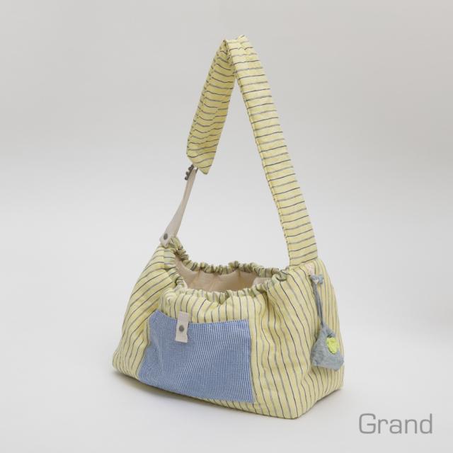 ルイスドッグ louisdog Glitter Linen Sling Bag