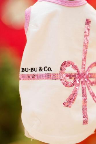 ブルブブ BUL BU-BU RibbonスパンコールT/K