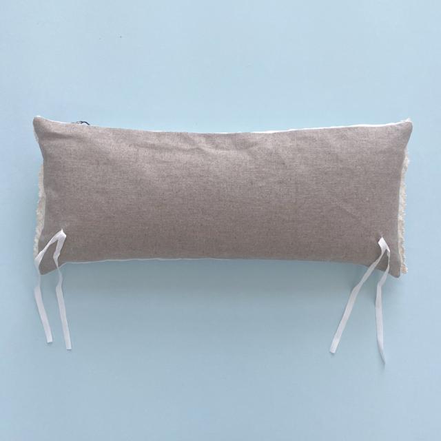ルイスドッグ louisdog Peekaboo Couture/Linen Stripes Bumper Cushion