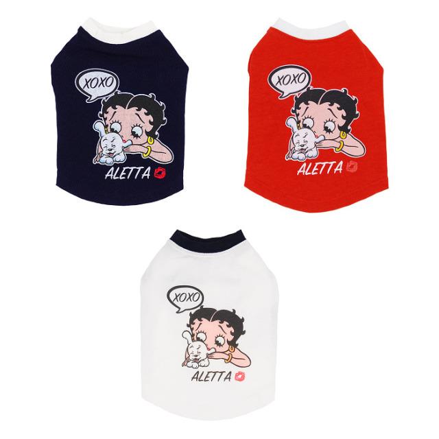 天使のカート Betty Boop pair Tee(XOXO)