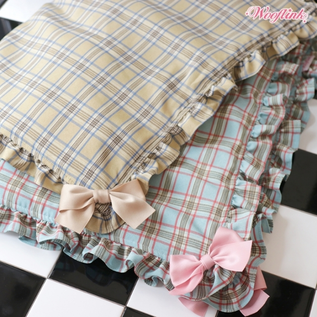ウーフリンク WOOFLINK PLAID BLANKET