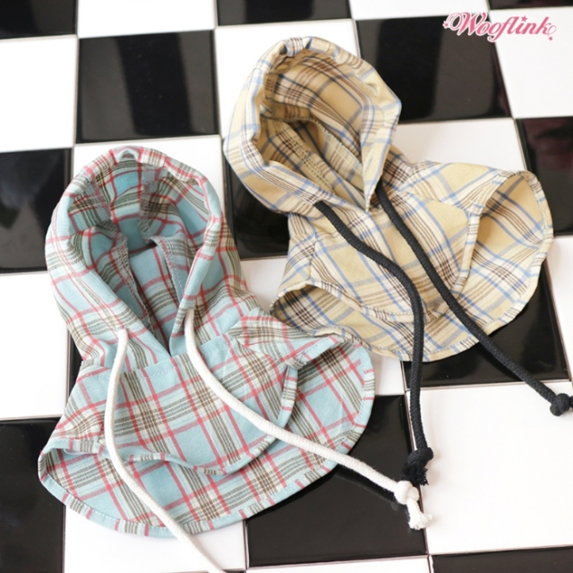 ウーフリンク WOOFLINK PLAID HOOD