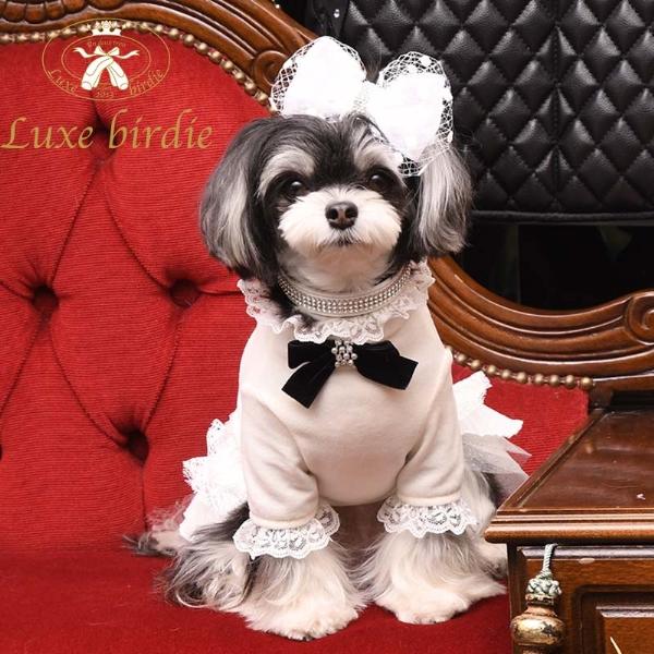 リュクスバーディ Luxe birdie セレニティチュチュドレス WHITE