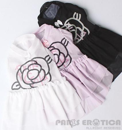 パリエロ PARIERO PG Camellia Tulle Dress