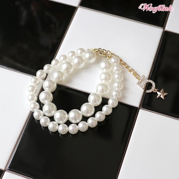 ウーフリンク WOOFLINK PEARL NECKLACE ♥