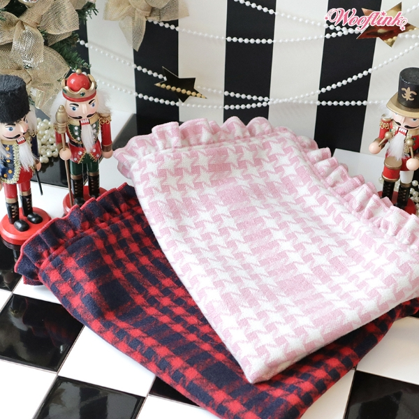 ウーフリンク WOOFLINK HOLIDAY MOOD BLANKET