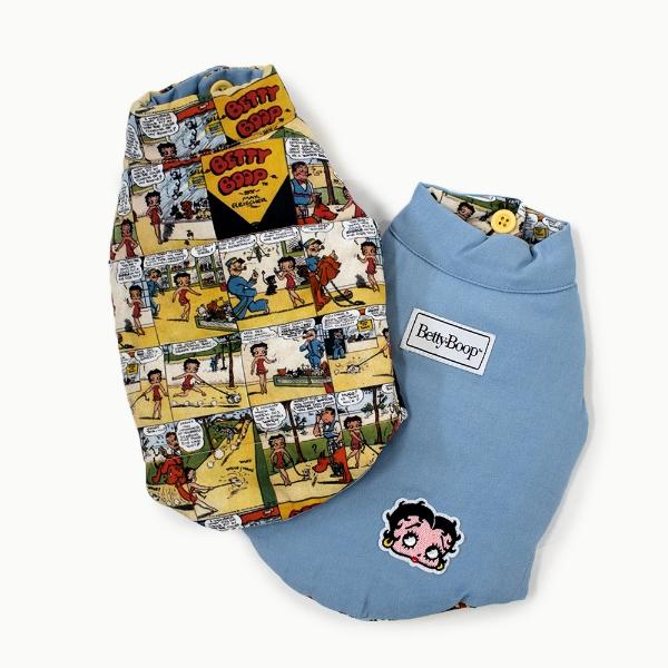 """天使のカート Betty Boop Reversible Vest """"""""Comic&Denim"""""""""""