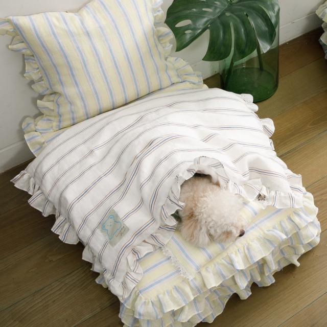 ルイスドッグ louisdog Candybar Goose Blanket