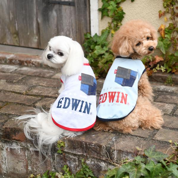 エドウイン EDWIN デニムポケットタンク