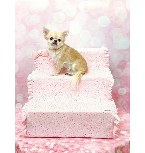 フォーペッツオンリー for pets only DOTTY STAIRS PINK (PE2021-A8)