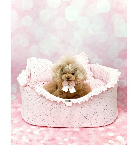 フォーペッツオンリー for pets only BABY GIRL DOTTY SOFA PINK (PE2021-B7)