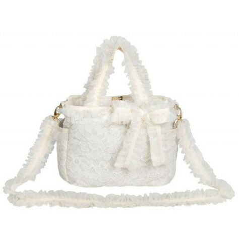 フォーペッツオンリー for pets only MOMMY BAG LACE IVORY (PE2021-B11)