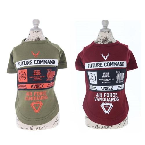 アヴィレックス AVIREX シーチングパッチドTシャツ