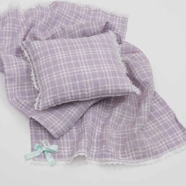 ルイスドッグ louisdog Lavender Blanket n Pillow Set