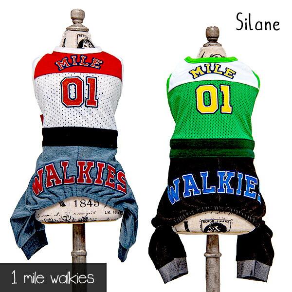 ワンマイルウォーキーズ 1 mile walkies シラン Silane Sports Jumpsuit