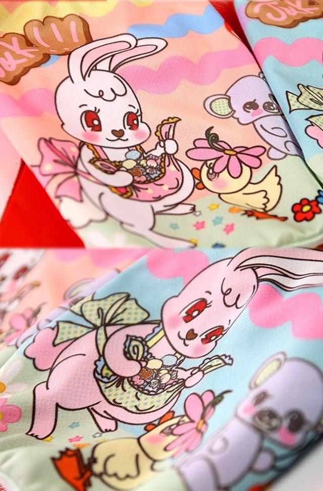 J&Kアニマルズ J&K animals ☆うさぴよ Tシャツ☆