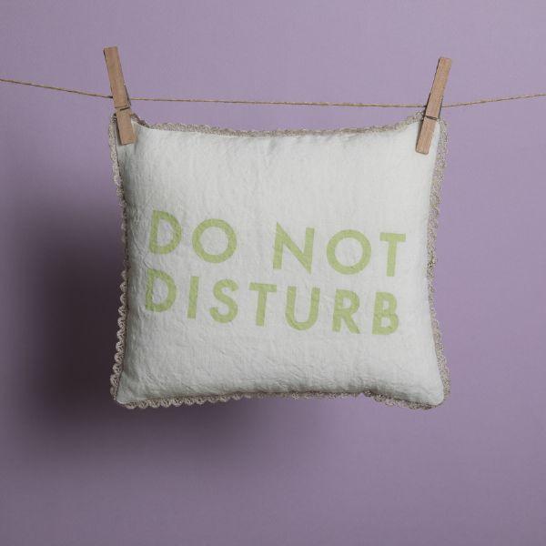 ルイスドッグ louisdog Do Not Disturb Pillow