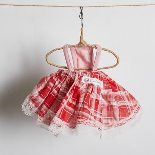 ルイスドッグ louisdog Tomato Mini Dress