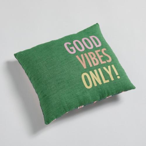 ルイスドッグ louisdog Good Vibes Only Pillow