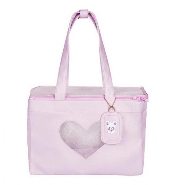 フォーペッツオンリー for pets only LOVELY BAG TOPOMIO PINK (AI2021-B14)