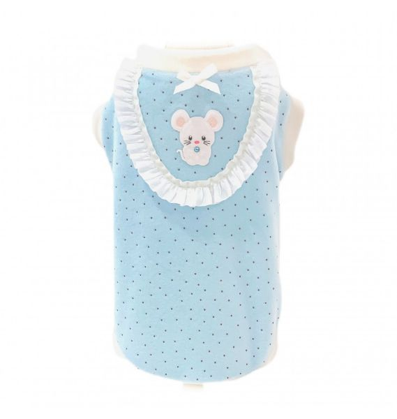 フォーペッツオンリー for pets only TOPOMIO DOLCE NANNA TEE BABY BLUE (AI2021-P11)