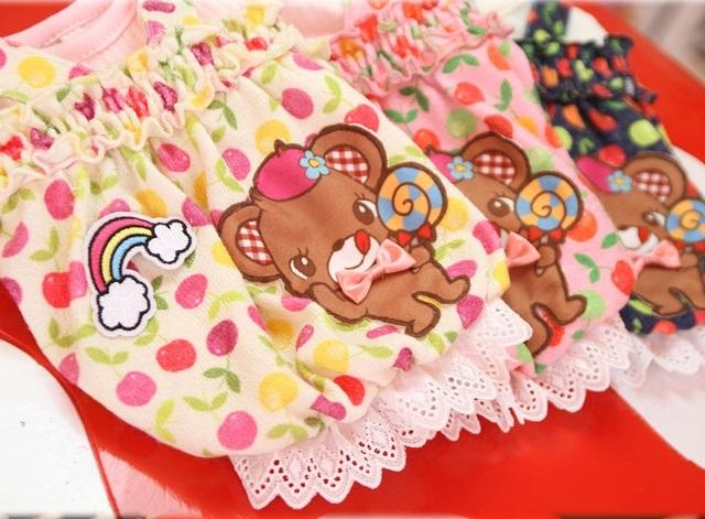 J&Kアニマルズ J&K animals ☆キャンディ くまワンピース☆(4S/4S-L)