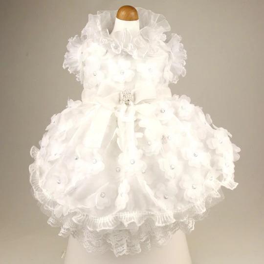 リュクスバーディ Luxe birdie デビュタントドレス WHITE×WHITE