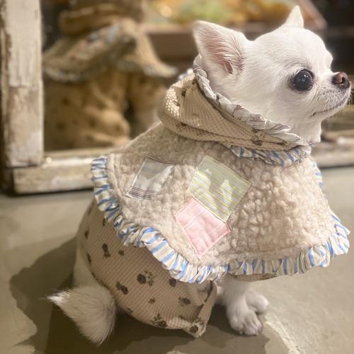 ルイスドッグ louisdog Fuzzy Fur Cape