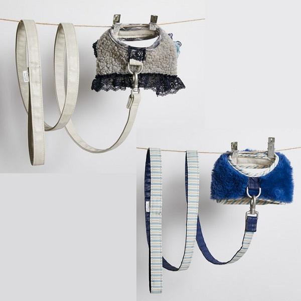 ルイスドッグ louisdog Fuzzy Fur Harness Set
