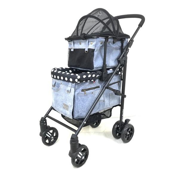 マザーカート Mother Cart ラプレ デニム 上下段セット