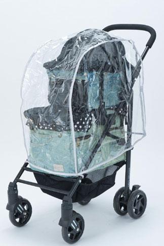 Mother Cart(マザーカート) ラプレ アジリティー 上下段専用レインカバー